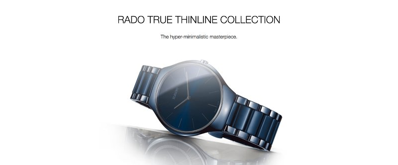 Rado True Thinline Collection
