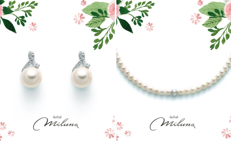 The charm of Miluna pearls