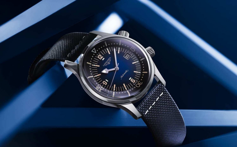 Longines Legend Diver Blu